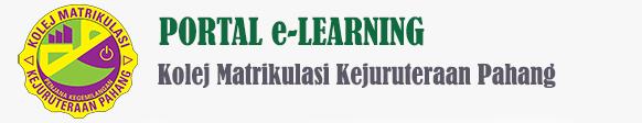Portal e-Learning Kolej Matrikulasi Kejuruteraan Pahang